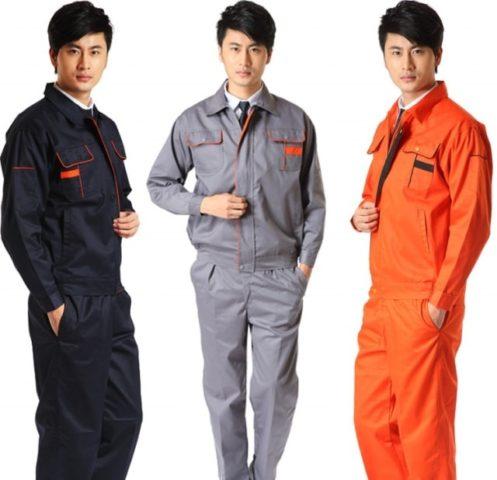 Quần áo bảo hộ lao động nam nữ