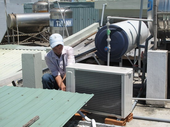 sửa chữa, lắp đặt máy lạnh tại Quy Nhơn