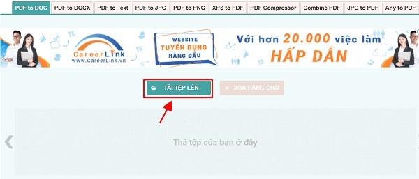 File PDF sang Word