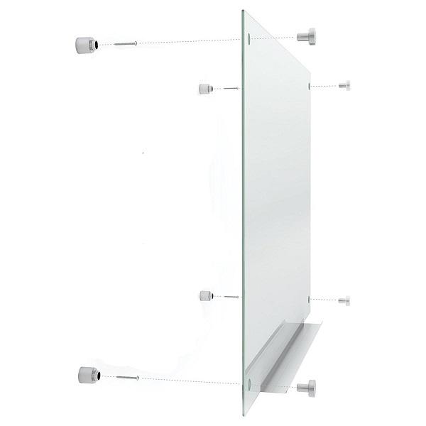 bảng kính cường lực treo tương