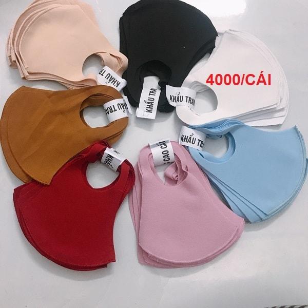 Top 3 shop bán khẩu trang vải su Hàn Quốc giá sỉ 2