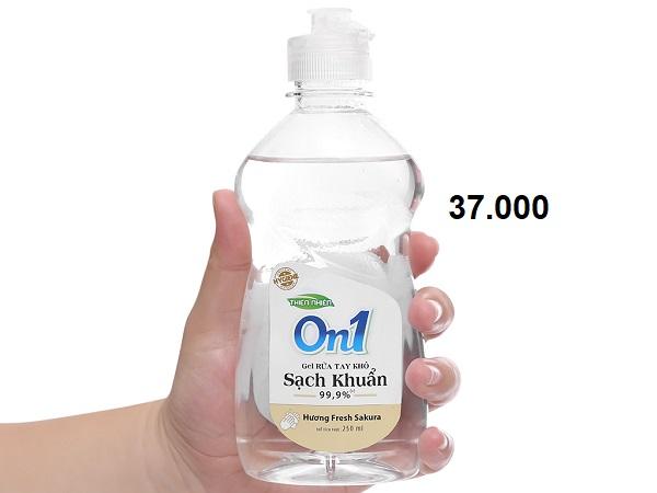 Top 5 nước rửa tay khô chính hãng, giá sỉ tốt nhất hiện nay