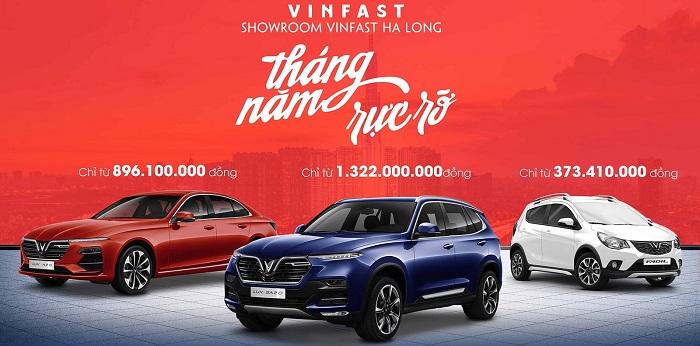 Top 5 đại lý bán xe ô tô Vinfast uy tín tại Quảng Ninh