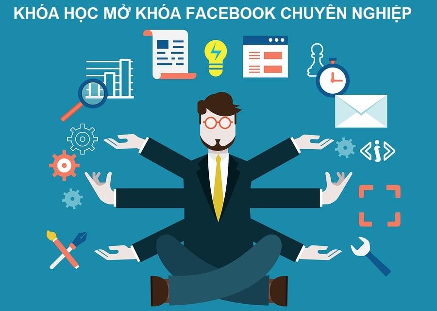 Khóa học dịch vụ facebook online chuyên sâu, học là làm được