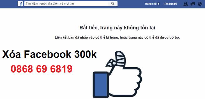 Top 10 dịch vụ khóa tài khoản Facebook uy tín, Rip facebook 3