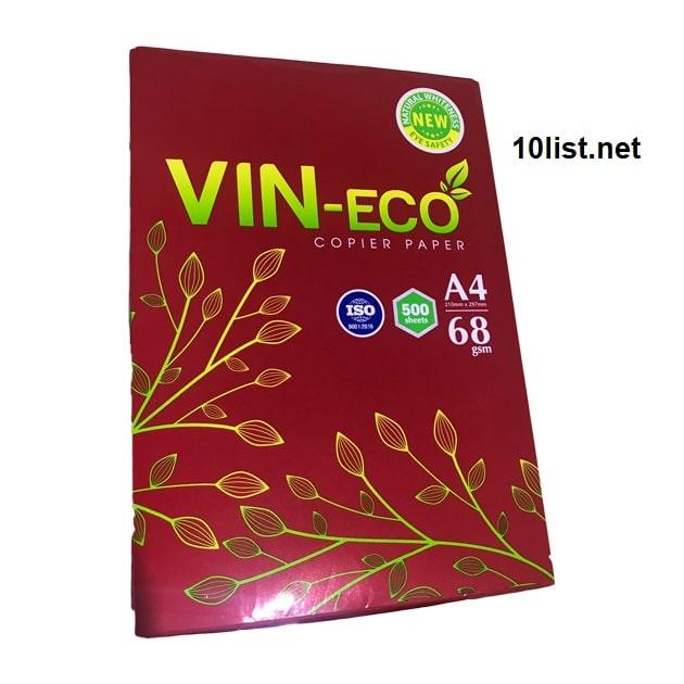 Top 5 đại lý bán giấy in-photocopy vineco giá sỉ TPHCM 2