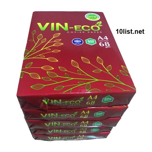 Top 5 đại lý bán giấy in-photocopy vineco giá sỉ TPHCM
