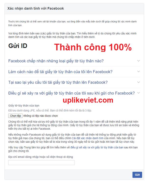 Link 339 facebook - 5 Bước xác minh danh tính 100% thành công