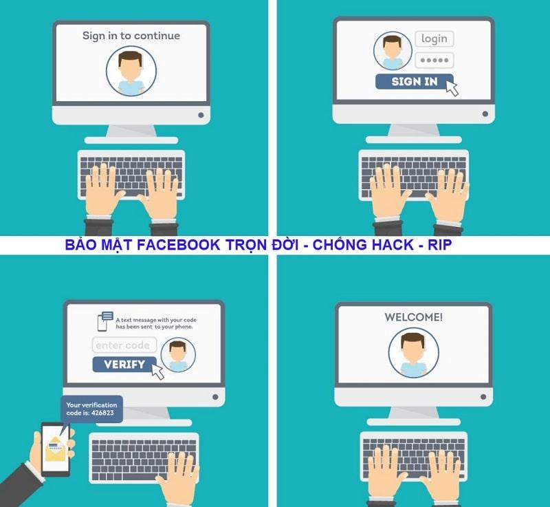 Top 10 dịch vụ bảo mật facebook chống hack uy tín nhất 2020