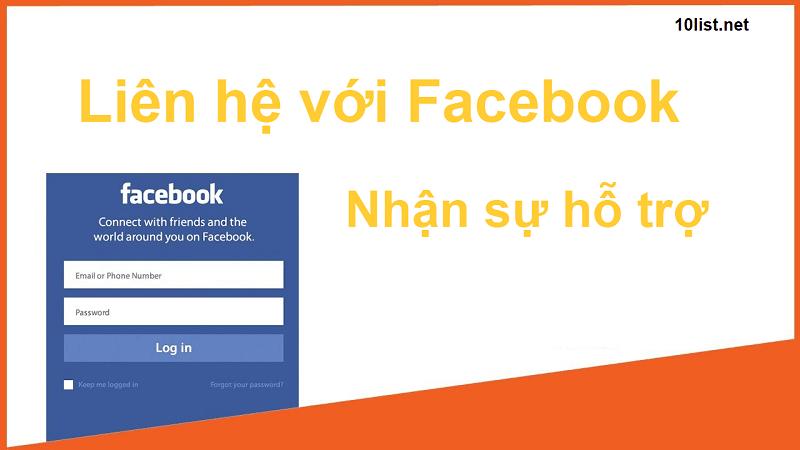 Top 5 cách liên hệ tổng đài facebook support admin Facebook