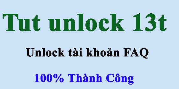 Tut Unlock 13T